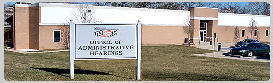 Maryland DUI, Maryland Lawyer, Administrative Hearing, MVA, OAH